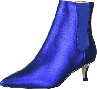 Katy Perry Women's The Joan-Soft Powder Metallic Ankle Boot