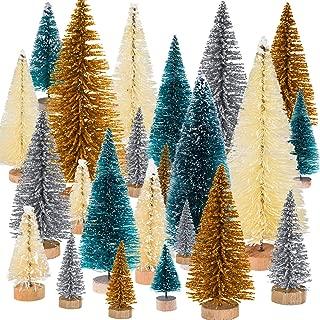 Best mini glitter christmas trees Reviews