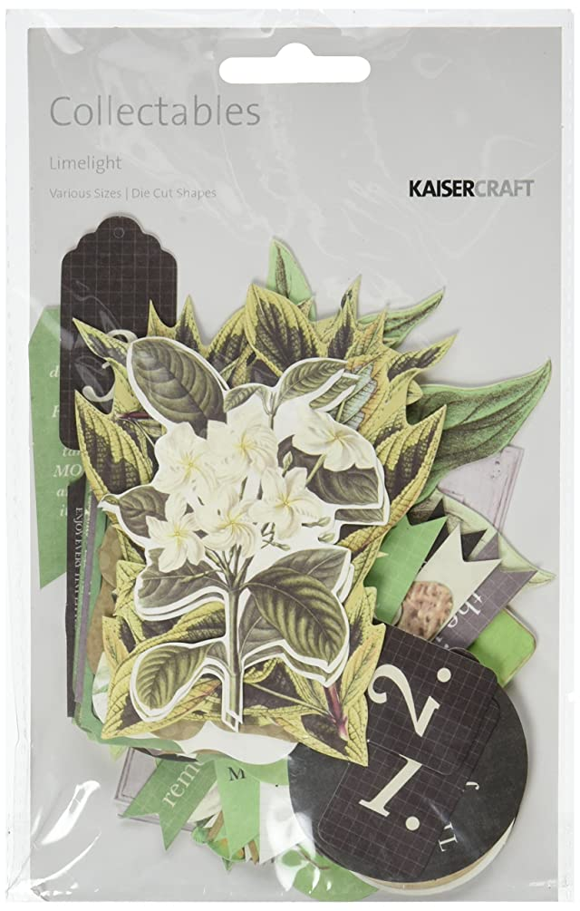 Kaisercraft CT786 Limelight Die Cuts Collectables Cardstock