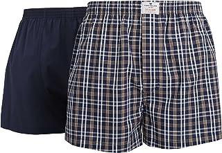 Tom Tailor Men's Checkered Underwear Set Blue Blau-Dunkel-Karo