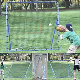 EZGoal Multi-Sport Folding Rebounder Net, 6 x 6-Feet, (Color may vary)