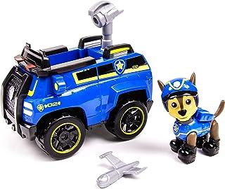 Paw Patrol - Miniatura vehículo - Chase's Spy Cruiser, Spin