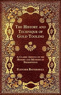 gold tooling bookbinding