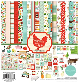 Carta Bella Paper Company Paper, Farm to Table Collection Kit, 12-x-12-Inch