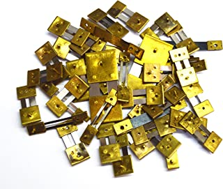 Harts 10 Units Brass Blocked Assorted Clock Pendulum Suspension Springs