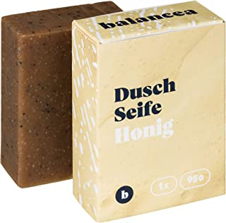 BALANCEA Seife Honig/Haarseife Naturseife Duschseife / 1er Pack 1 x 95 g