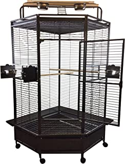 Large Corner Bird Cage