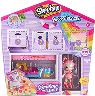 Shopkins Happy Places Rainbow Beach Furniture Set - BBQ Party