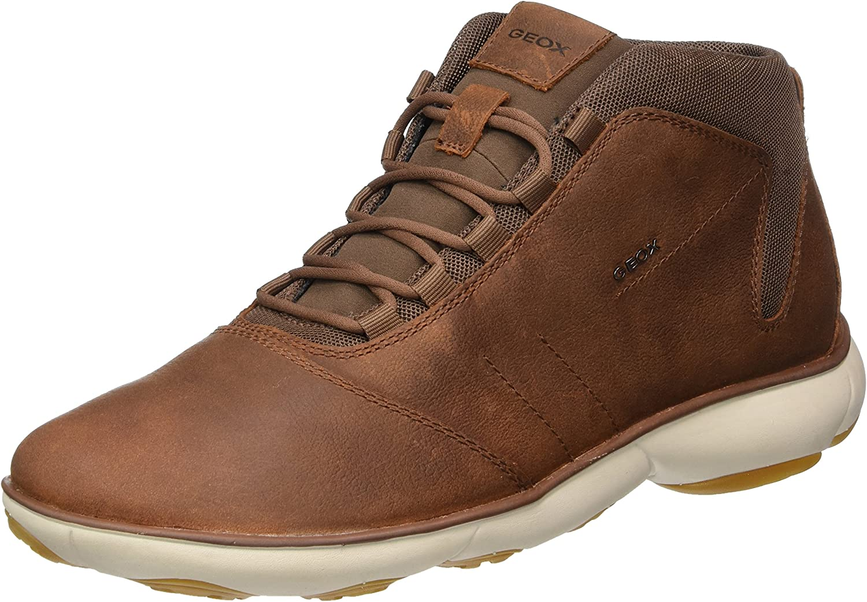 Geox U Nebula A Mens Leather Sneakers shoes