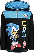SEGA Sonic The Hedgehog Fleece Half-Zip Hoodie