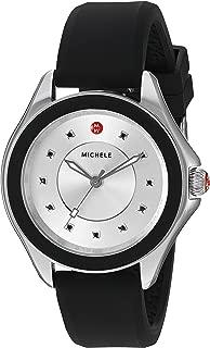 MICHELE Women's MWW27A000012 Cape Analog Display Analog Quartz Black Watch