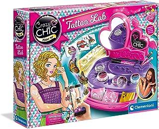 Clementoni - 15316 - Crazy Chic - Il Laboratorio dei Tatuaggi - gioco creativo per realizzare tatuaggi temporanei - tatoo ...