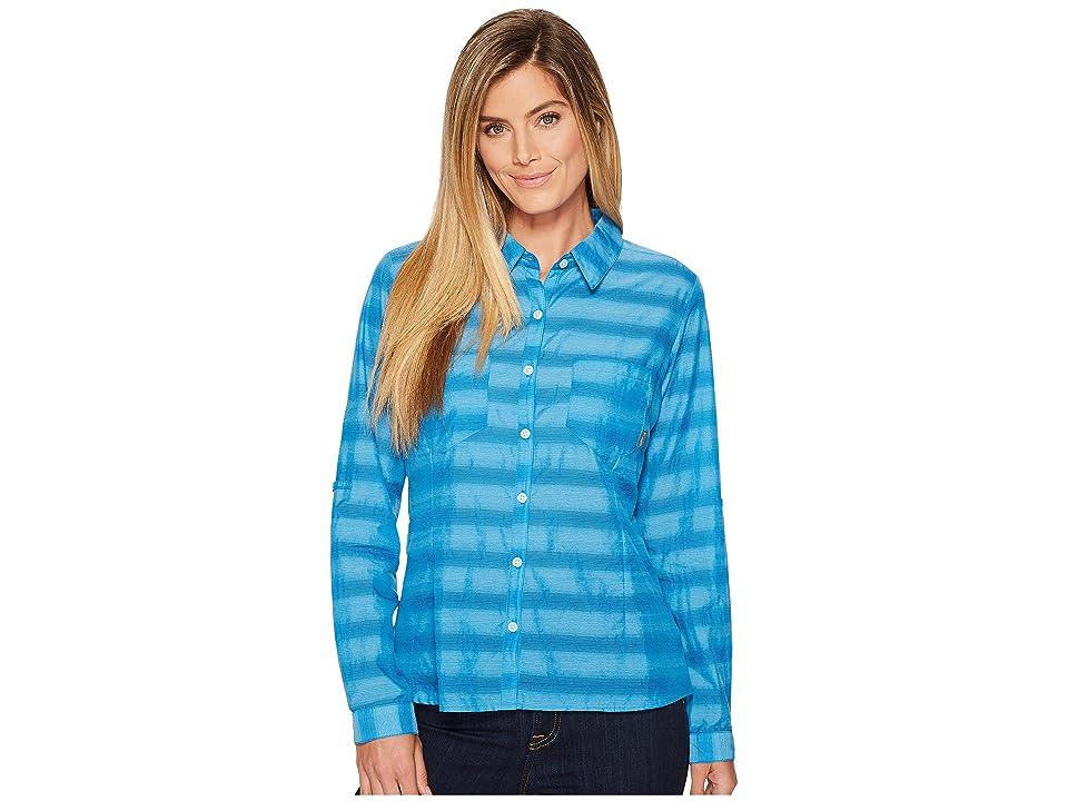 Columbia Summer Trek Long Sleeve Shirt (Dark Cyan) Women