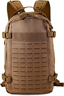 BAIGIO Military Tactical Backpack Molle Hiking Day Packs Out Bag for Traveling, Camping, Trekking