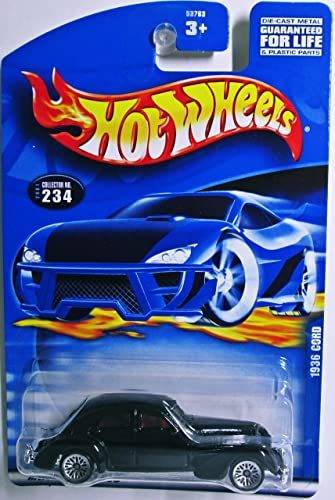 Hot Wheels 2001-234 1936 Cord 1 64 Scale by Mattel