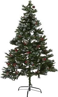 Lüks Karlı Kozalaklı İğne Yaprak Yılbaşı Çam Ağacı 180cm Yeşil 1 Adet