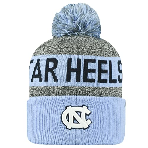 finest selection 91172 0523a Top of the World NCAA Arctic Striped Cuffed Knit Pom Beanie Hat
