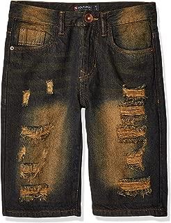 Southpole Boys Ripped Denim Shorts Denim Shorts - Blue