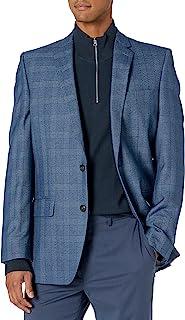 معطف Glen الرياضي ذو فتحات مركزي مقاس محكم من Haggar للرجال