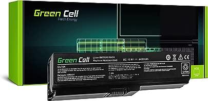 Green Cell PA3634U-1BRS Laptop Akku f r Toshiba Satellite A660 A665 L510 L650 L650D L655 L655D L675 L670 L670D M300 M500 U400 U500 6 Zellen 4400mAh 10 8V Schwarz Schätzpreis : 29,95 €