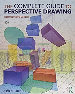 The Complete Guide to Perspective Drawing: From One-Point to Six-Point