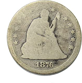 1876 Seated Liberty Quarter 25¢ Good