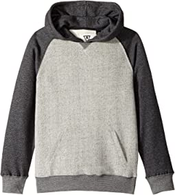 VISSLA Kids - Manasquan Pullover Hooded Fleece (Big Kids)