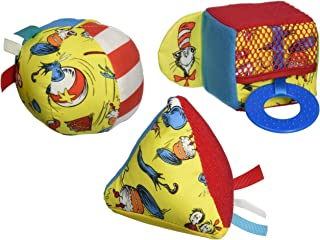 Manhattan Toy Dr. Seuss Cat in the Hat Shape Set Baby Activity Toy