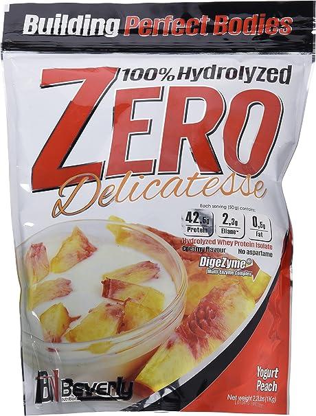 Beverly Nutrition Delicatesse Hydrolyzed Zero Proteína Hidrolizada Sabor Yogur-Melocotón - 1000 gr