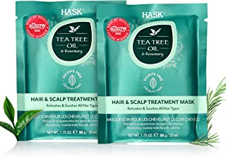 HASK Beauty TEA TREE Revitalizing Deep Conditioner Treatments for all hair types, color safe, gluten free, sulfate free, p...