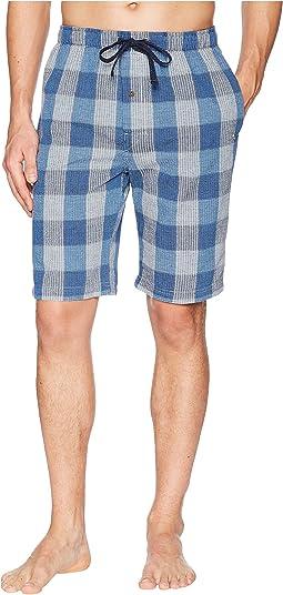 Seersucker Woven Jam Shorts