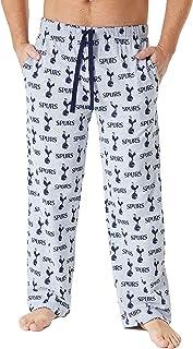 Tottenham Hotspur F.C. Mens Lounge Pants, Football Mens Pjs Spurs Gifts for Men