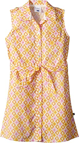 Sunshine Belted Shirtdress (Toddler/Little Kids/Big Kids)