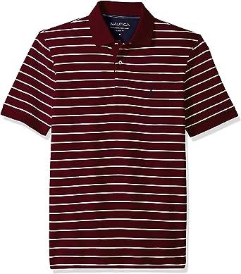 Nautica Men's Classic Fit Short Sleeve 100% Cotton Pique