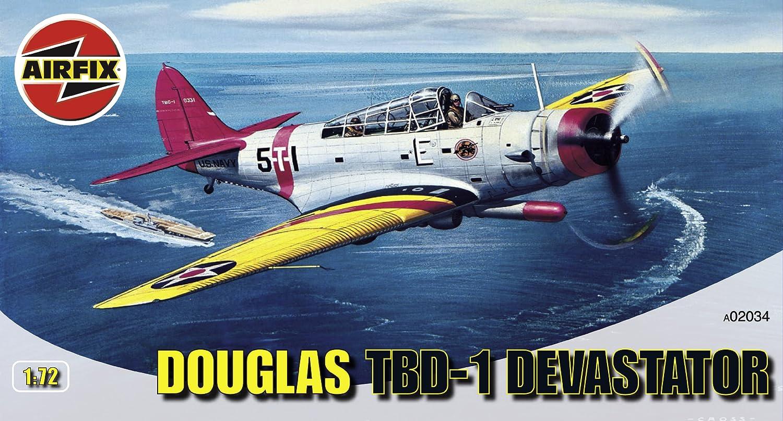 Airfix A02034 Douglas TBD1 Devastor 1 72 Scale Series 2 Plastic Model Kit