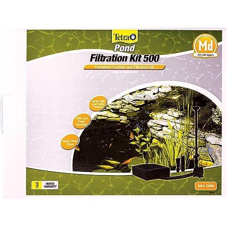 Submersible Flat Box Pond Filter TetraPond Gold Fish Koi Fresh Water NEW