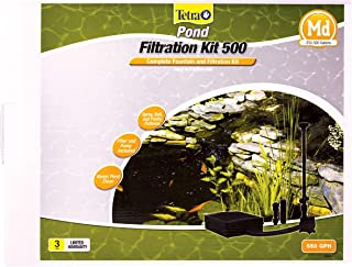 Best TetraPond Filtration Fountain Kit, Includes 3 Fountain Attachments Review