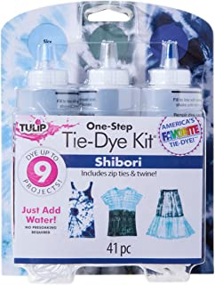 Tulip 38450 One-Step Tie Kit Fabric Dye, Shibori