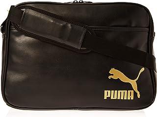 Puma Originals Reporter Retro Black Bag For Unisex, Size One Size