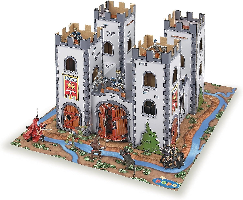 Papo  Mini Knight Castle Figure (MultiColour)