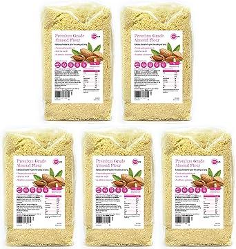 PINK SUN Ground Almonds 5kg (1kg x 5)