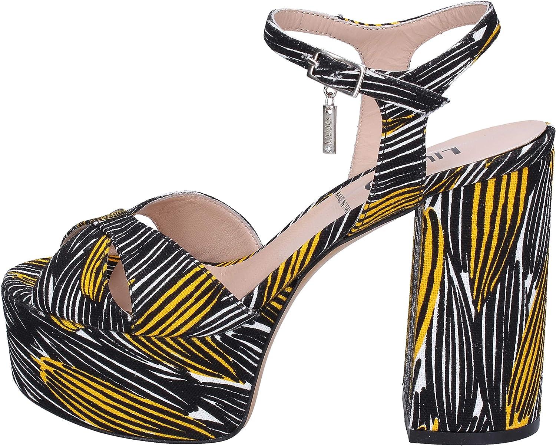 Liu Jo Sandalen Damen Textil schwarz schwarz schwarz  1cb020