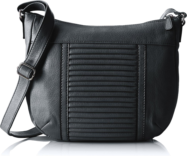 S.Oliver (Bags Damen City Bag Umhängetasche, (Grau), 24.5x7.5x29.5 cm cm cm B01N6M6VIV  Erste Gruppe von Kunden c7fab8