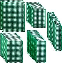 Elegoo 32 Stuks Dubbelzijdige PCB Board Prototype Gatenroosterplaat Kit voor Knutselen Solderen 5 Verschillende Maten Comp...