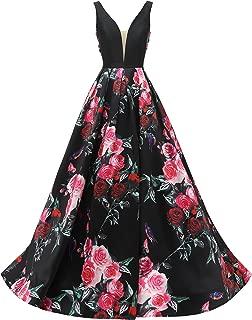 Best floral print evening gowns Reviews