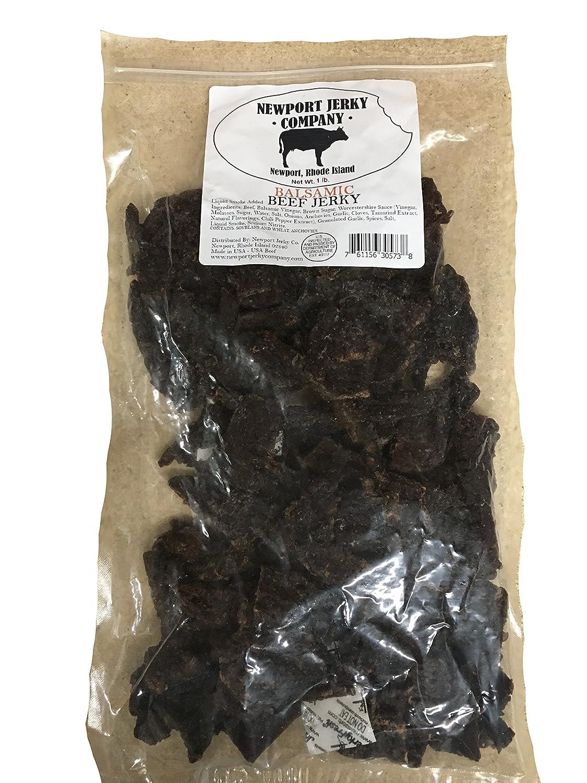 Balsamic Sale SALE% OFF Flavored Beef Brisket New York Mall Jerky Bag Bulk Pound 1