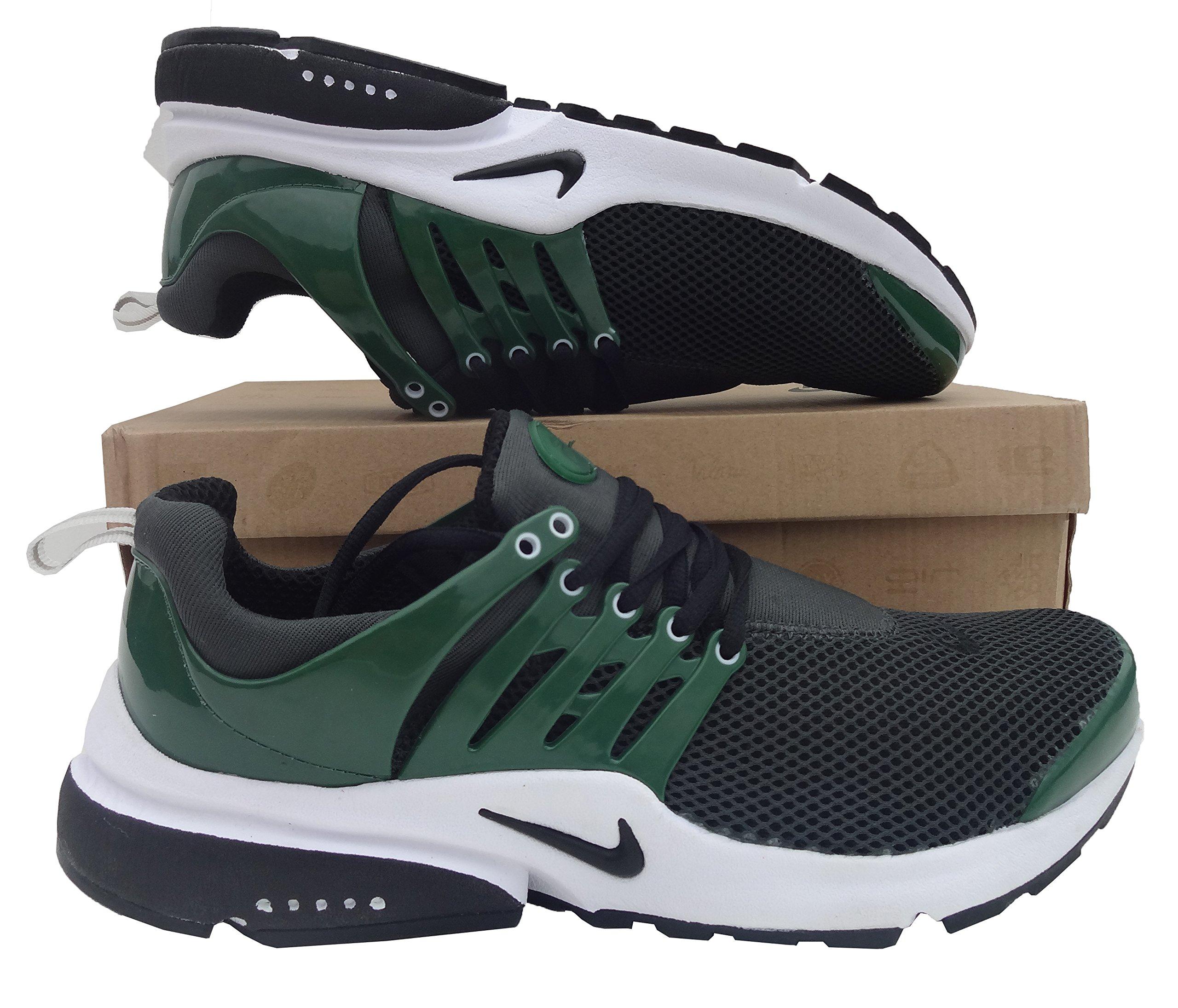 Nike Air Presto Gris Oscuro Verde Mens tamaño 10 Zapatillas Deportivas Zapatillas Shox Zapatos: Amazon.es: Deportes y aire libre