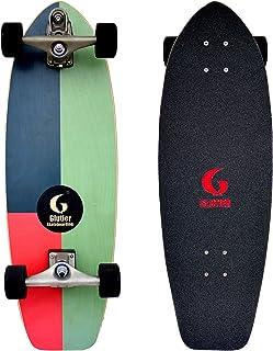 Glutier Surfskate Minim 31 with T12 Surf Skate Ska...