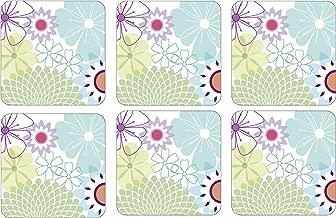 Portmeirion Crazy Daisy Coasters (Box of 6)