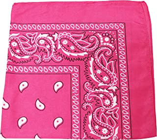 wholesale pink bandanas